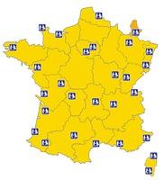 Expert'air assure l'accueil de vos passagers dans 24 aéroports en France